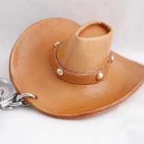Western Cowboy Goods Key Chain KC 44 Cowboy Hat